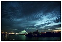 Putra at night (pedramatic) Tags: bridge blue sunset sky cloud lake night canon malaysia putrajaya kl putra   pedram cablestayedbridge    wilayahpersekutuan putramosque istanadarulehsan seriwawasanbridge  jambatanseriwawasan platinumphoto canoneos450d putrajayalake 25500n1014000e goldstaraward  perbadananputrajaya  pedramatic malaysianprimeminister      southofkualalumpur federaladministrativecapital statesandfederalterritoriesofmalaysia federaladministrativecentreofmalaysia nearcyberjaya bandarrayatamanbandarrayabestari gardencityintelligentcity samsudinosman tunkuabdulrahmanputra drmahathirbinmohamad klinternationalairportklia us81billion