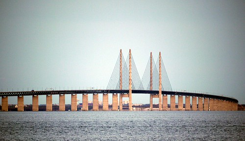Öresund Bridge Sweden Denmark