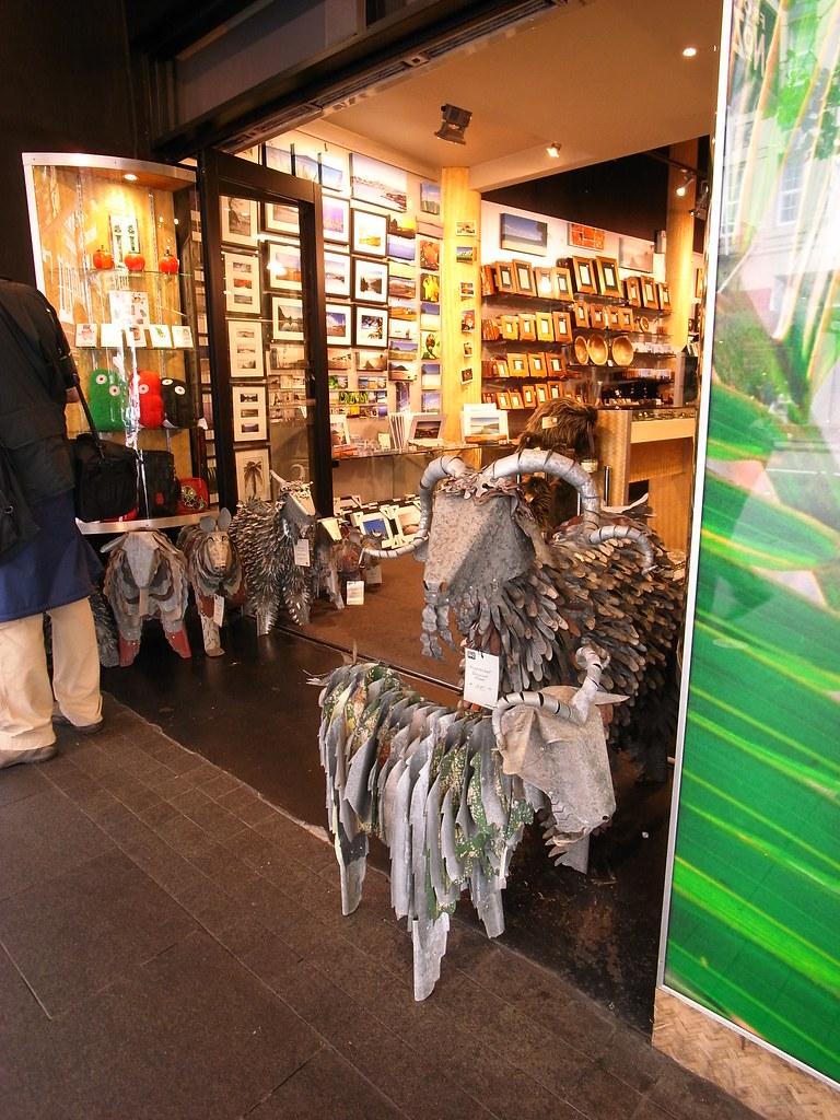 seems NZ was addicted to metallic sculpture