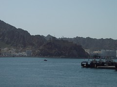100_3563 (drum881) Tags: mountain castle port pier persian gulf royal east hills caribbean middle oman muscat seas brilliance