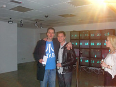 Sky's LOST Initiative geek team Iain Lee and Paul Terry @ Sky HD LOST Launch