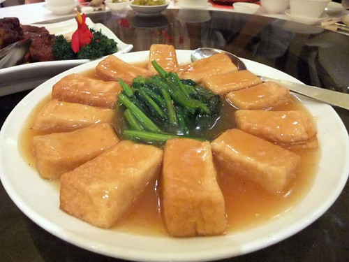 Braised Tofu in Oyster Sauce