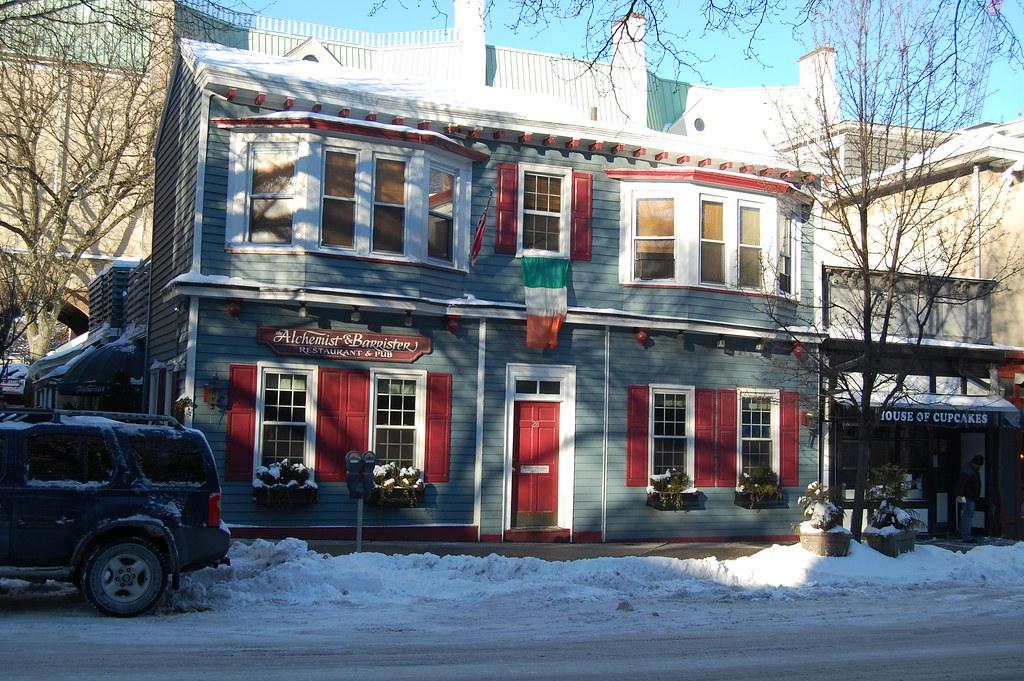 The A&B, a favorite townie bar
