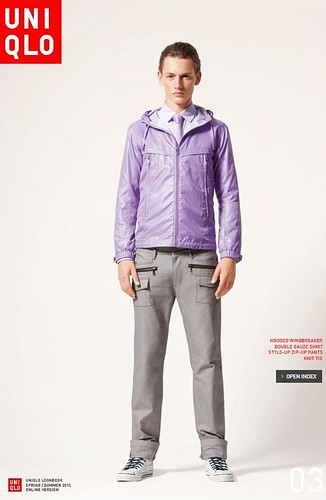 UNIQLO 0235_LOOK BOOK 2010 SPRING_Jakob Hybholt