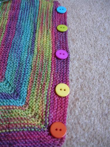Rainbow cardigan WIP (5)