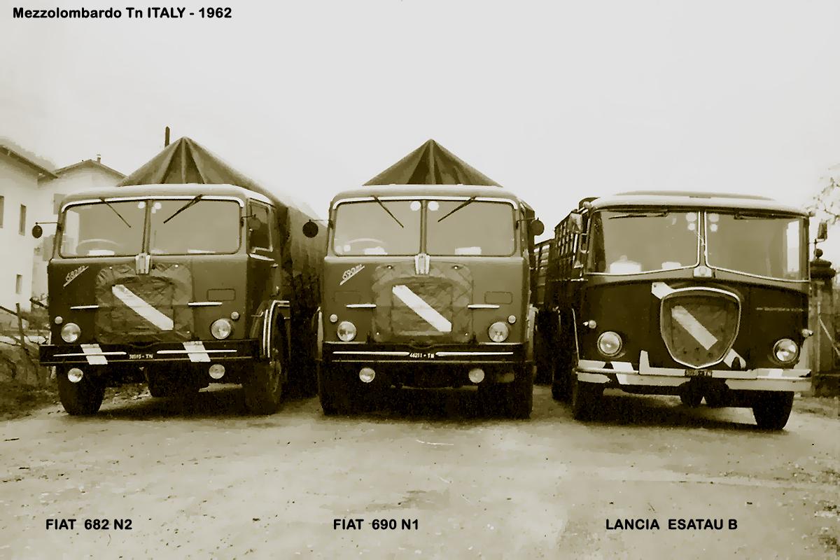 1962 - FIAT 682 N2 FIAT 690 N1
