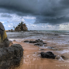 Natural flow (Ahmad Shukri) Tags: beach nature landscape flow scenery tokina hdr batu rockybeach pantai kemasik terengganu kemaman 1116 kemasikbeach