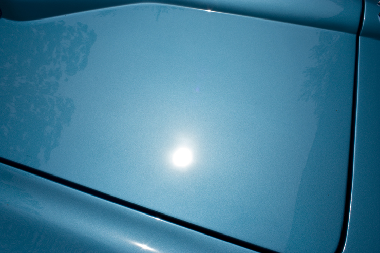 1966 Corvette Sting Ray 427 sun reflection