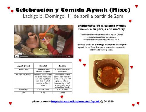 11 de abril (celebracion y comida ayuuk)
