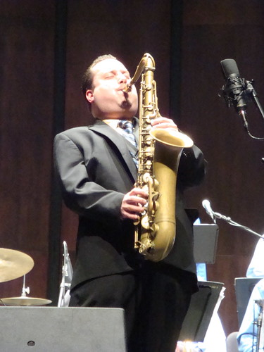 Ivan Renta with UNC Jazz Band