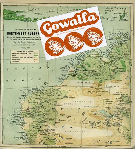 Gowalla stickers