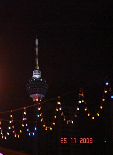 DSC02080 Kuala Lumpur Tower at Night