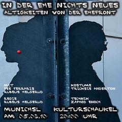 MunichSL - Kulturschaukel: In der Ehe nichts neues