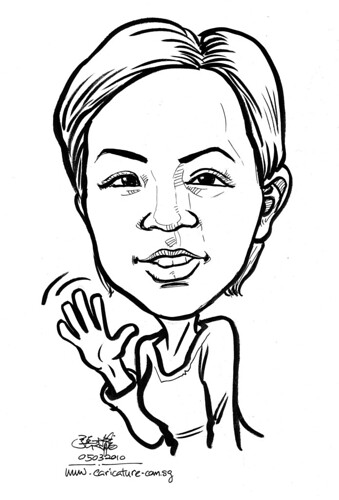 Caricature for K C Dat - 10
