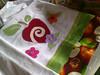 pano de prato (Dipano Ateliê) Tags: de galinha pano patchwork prato cozinha jogos tecido aplicação apliqué dipano