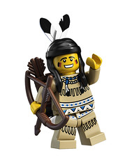8683 Minifigures Indian