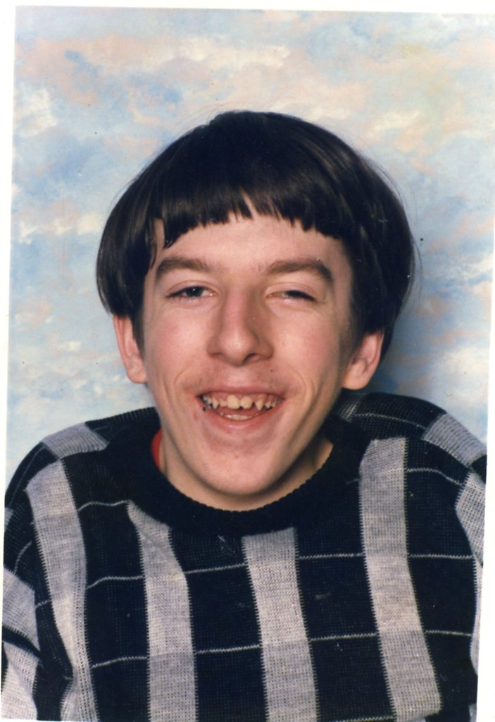 Billy Myatt, Ashcraig School, 1982.