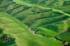 Hills West of Orland (Anthony Dunn Photography) Tags: california winter green grass photography spring air aerial hills valley sacramento northern