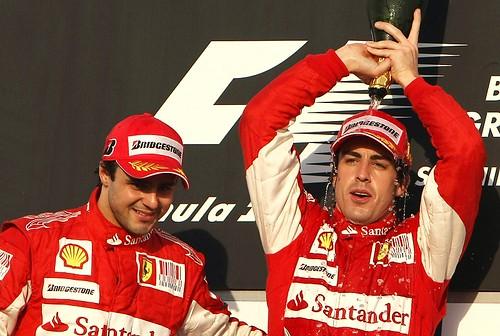 Massa和Alonso