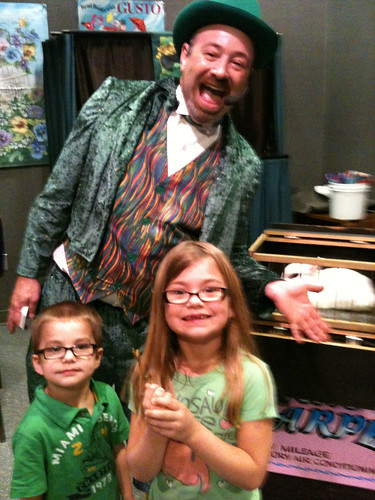 The Kids, the Magician and a Bunny