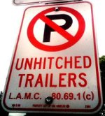 No Unhitched Trailers