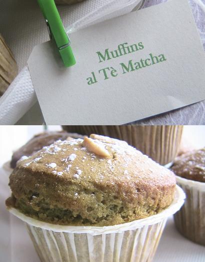 Muffins al Tè Matcha