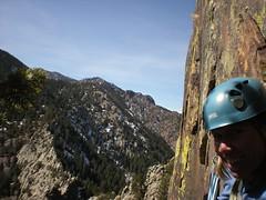 Jenny at Top of Washington Irving (5.6)