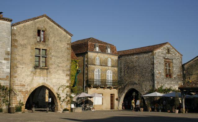 Montpazier, bastide di Dordogna