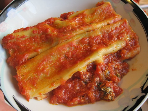 Scordo Pasta Challenge: #13 Cannelloni with Ricotta and Tomato Sauce