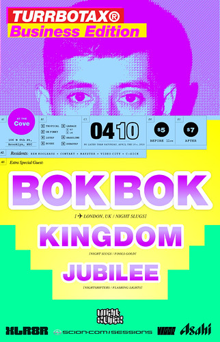 Bok Bok Kingdom Jubilee at TURRBOTAX Brooklyn
