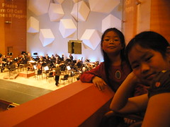 Girls at Minnesota Orchestra