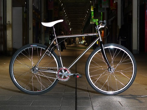 Yabusame bike for bikepolo (prototype)