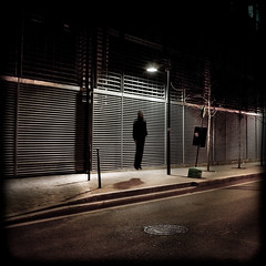 Phototropisme (Thibaut Lafaye) Tags: auto shadow portrait night jump levitation atmosphere ombre rue nuit sauter reverbere 500x500 nocture winner500 phototropisme