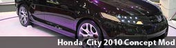 New Honda City 2010 Concept Mod