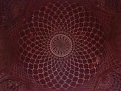 Ceiling detail in the jawab (Beth M527) Tags: india tajmahal agra unesco tombs ceilings 2010 worldheritagesites