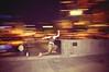 Light Speed (jussograph) Tags: light lightpainting motion speed jump artistic creative melbourne run southbank camerabag