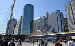 NYC Pier-17 (Riex) Tags: nyc newyorkcity usa ny newyork boat skyscrapers manhattan tallship bateau bigapple peking highrises a100 amount pier17 biga gratteciel sal1680z minoltaamount carlzeisssonyf35451680mm anciengreement variosonnartdt35451680