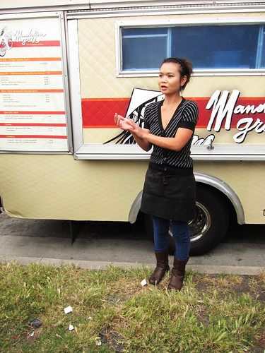 Tasting with Mandoline Grill Food Truck