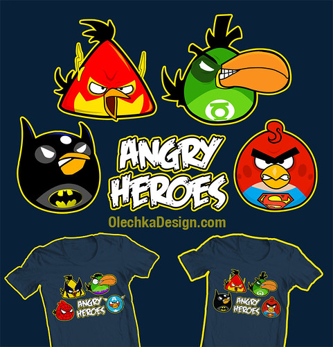 Angry Birds Superheroes! Wow! - YouTube
