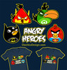 Angry Birds Shirt Angry Heroes Kids and Adult (olechka_wa) Tags: blue original girls red baby game cute men green bird art boys yellow shirt comics design dc hoodie video cool women funny geek adult lol humor cartoon tshirt shirts hoody hero parody heroes superheroes marvel addict boomerang nerdy iphone ipad olechka angrybirds olgashvartsur angryheroes angrybirdskidsshirt