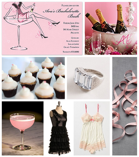 Blushing Bride Bachelorette Party