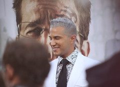"""America's Top Model"" creative director Jay Manuel. (kjdrill) Tags: california justin usa mike zach movie ed paul losangeles tyson ken bradley hollywood cooper premiere blvd helms giamatti bartha jeong 1257 galifiankis hangoverpart2 monkeythailandfilmcomedyfunny"