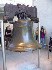 The liberty bell back side