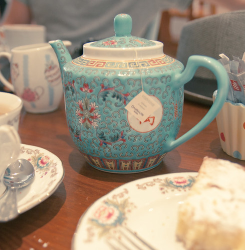 Tea at The Chelsea Teapot