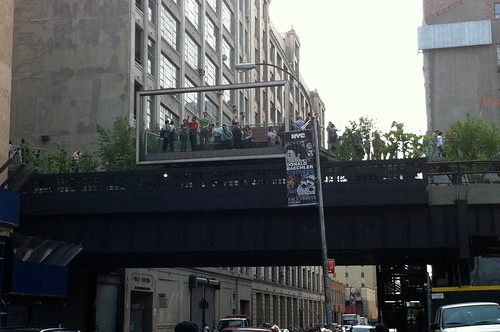 High Line billboard
