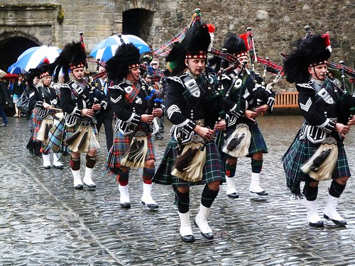Pipe Band at Stirling Castle