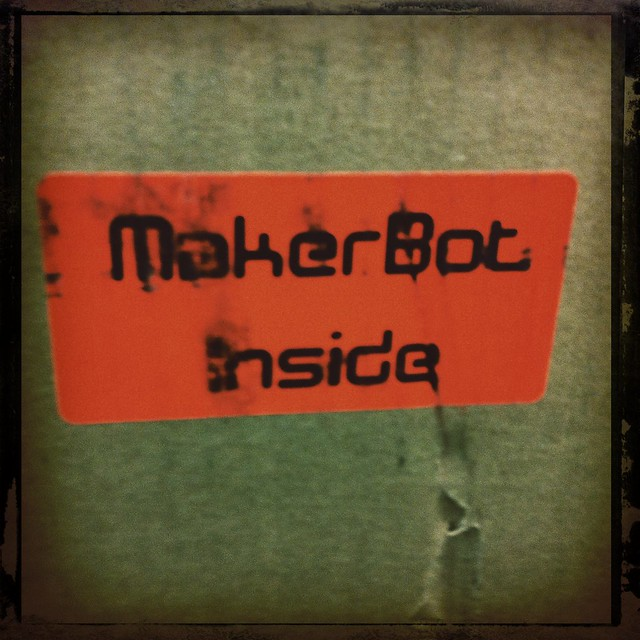 My @makerbot has arrived!