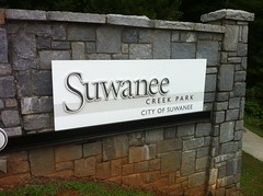 Suwanee Creek Park Sign