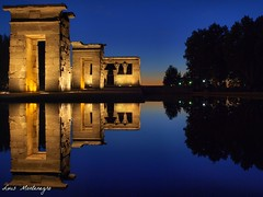 #Fotos de egipto #Egypt photos #Spain #Espaa #Madrid #Debod Temple #Templo de Debod #Egypt #Egipto #Luis Casado Bermejo # Luis Montenegro # : Templo de Debod (Luis Casado Bermejo (Luis Montenegro)) Tags: pictures madrid travel viaje espaa tourism reflections temple spain ancient holidays europa europe pyramid photos egypt olympus images nile cairo fotos temples pyramids egipto piramides aswan luxor imagenes turismo archeology giza gypten templo egitto egipte egypte egito nationalgeographic gizeh piramide egyptology dsert  pyramides piramidi templodedebod pyramiden arqueologia  natgeo egipcios   caro kairo piramid nileriver pharaohs   assouan ngm  debodtemple lecaire  egypti  egipat rionilo egipti  luismontenegro masterclasselite luiscasadobermejo