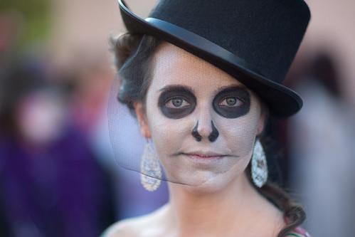 Dia de Los Muertos Austin 2009-38